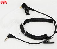2.5mm Police Listen Only Acoustic Tube Earpiece Headset for Radio Speaker Mic