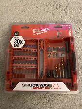 Milwaukee 4932430908 40 Piece Shockwave Impact Screwdriver Bit Set