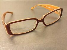 Chanel Eyeglasses Frames Brown 3116B c.856 Crystal Cc Accent