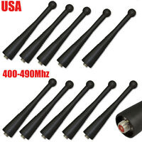10 NEW STUBBY UHF 400-490Mhz ANTENNAS FOR MOTOROLA XTS5000 XTS3000 HT1000 MT2000