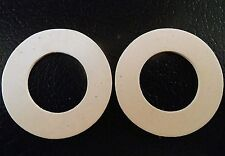PAIR REPLACEMENT SEALS - PORTMEIRION WELSH, VILLEROY BOCH, GOONHAVEN MEDIUM JARS