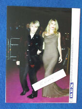"Original Press Photo - 8""x6"" - Nick Rhodes & Meredith Ostrom-2002-A- Duran Duran"