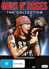 GUNS N ROSES The Collection (Region 1 US Compatible) DVD Axl Rose Slash & And an