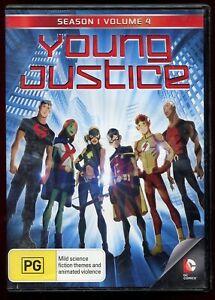 Young Justice (Season 1 Volume 4) R4 DVD Animation DC Comics