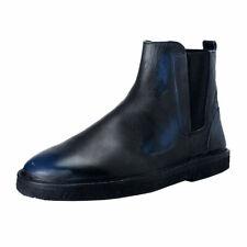 """Golden Goose """"Portman"""" Men's Faded Blue Leather Ankle Boots Shoes Sz 9 10 11"""