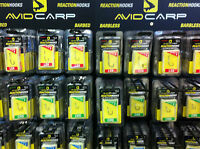 Avid Carp Reaction Hooks - Complete Range Available