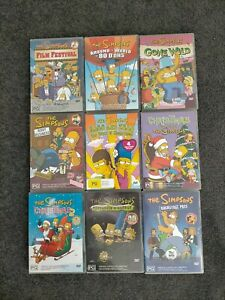 9 X The Simpsons Animated Comedy Tv Show Series