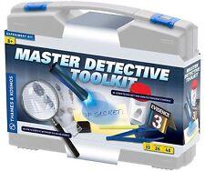 Thames & Kosmos MASTER DETECTIVE TOOLKIT Kids Science Kit 26 Experiments