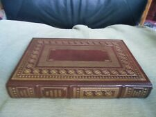 JOHN IRVING SIGNED - THE CIDER HOUSE RULES FRANKLIN LIBRARY LEATHER LIKE EASTON