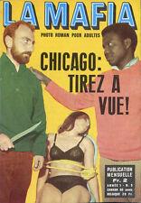 Roman Photo petit format - LA MAFIA n° 5, CHICAGO : TIREZ A VUE !