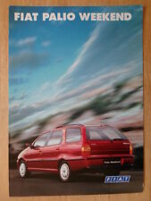 FIAT PALIO WEEKEND orig 1999 Polish Mkt sales brochure - Polski Auto-Pol