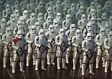 Papier peint photo mural 254x184cm Star Wars Tempête Troopers