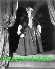 """CARLOTTA MONTEREY 8X10 Lab Photo 1922 """"VOLTAIRE"""" Broadway Play Still"""