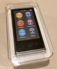 NEW! Authentic Apple iPod nano 16GB Space Gray 7th Generation (MKN52/LLA Sealed)