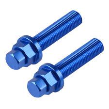 Axle Chain Adjuster Bolt 2PCS Aluminum CNC For Husqvarna FE 250 350 450 501 501s