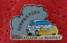 BEAU PIN'S VOITURE RALLYE TALBOT SAMBA P.LECAILLON J. BOISSET