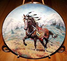 War Ponies Of The Plains Windcatcher A Cheyenne War Pony Horse Plate