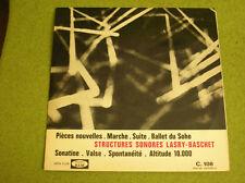 LP STRUCTURES SONORES LASRY-BASCHET-BAM C 108-