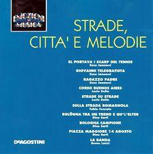 CD EMOZIONI IN MUSICA (De Agostini IT 9115/16) - STRADE, CITTA' E MELODIE