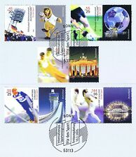 BRD 2005: Sport Nr. 2439-2443 mit Bonner Ersttags-Sonderstempeln! 1A erhalten!