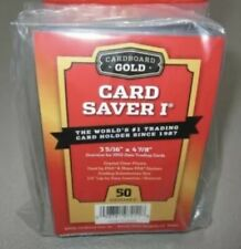 Cardboard Gold PSA Grade Card Saver 1 - 50 Ct - Brand New Sealed - Ships Today!