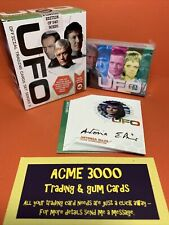 Unstoppable UFO Series 3 WHITE BOX 19x Gold Autograph Cards + Sketch & 54 SET