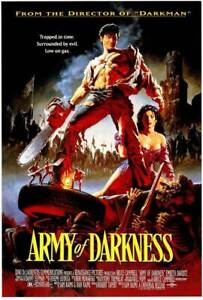 """ARMY OF DARKNESS 11x17"""" Movie Poster - Licensed   New   USA   EVIL DEAD"""