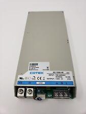 COTEK AK-1000-48 AC to DC Power Supply 48V 21 Amp 1000W