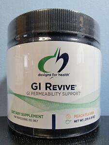 Designs for Health GI Revive GI Permeability Support Peach 8 oz NEW! Exp 3/2023