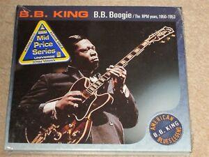 B.B. KING - B.B. BOOGIE - THE RPM YEARS - RARE OOP DIGI PAC - NEW