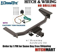 FITS 16-17  MAZDA CX-9  w/ FACTORY TOW PKG CLASS 3 TRAILER HITCH & WIRING  76020