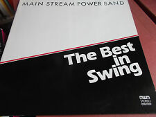 MAIN STREAM POWER BAND: THE BEST IN SWING: DOPPEL VINYL LP: HEINZ SCHÖNBERGER