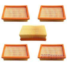 5x Flachfalten Filter für Kärcher Staubsauger WD MV 4 5 6 Premium Lamellenfilter