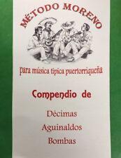 Metodo Para Musica Tipica Puertorriqueña Décimas, Aguinaldos Y Bombas.