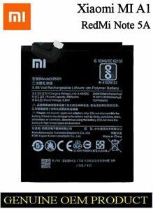 Xiaomi Mi A1, Redmi Note 5A ORIGINAL BATTERY BN31 3080mAh 46BN31G13014