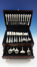 King Richard by Towle Sterling Silver Flatware Set For 12 Service 66 Pieces