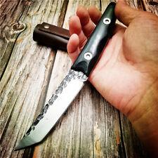 Couteau droità lame fixe sabre couteaux de survie chasse en pleine nature EDC