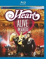 HEART - ALIVE IN SEATTLE (BLURAY) EV CLASSICS  BLU-RAY NEW+