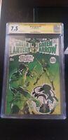 Green Lantern #76 CGC 7.5 SS **Signed Neal Adams** 1st Green Arrow Story Begins
