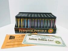 Anthony Robbins Personal Power II The Driving Force 25 CD Box Set