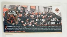 World Series Champions 2012 PIN SF GIANTS SGA - JUNIOR GLOVE DRIVE 2013