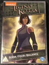 THE LEGEND OF KORRA BOOK FOUR (BALANCE) BRAND NEW & SEALED MINT CONDITION