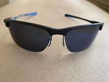 Oakley Carbon Blade OO9174-05 Matte Carbon/Ice Iridium Polarized Sunglasses