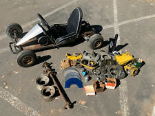 Vintage 1962 GO KART MFG. 1200 w/ GoPower Dyna Drive McCulloch MC-2 Parts & More