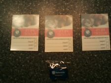 3 reversible window stickers to alert 1st responders & light up key chain/ tag!