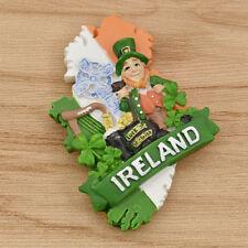 Ireland 3D Resin Fridge Magnets Tourist Souvenir Refrigerator Sticker Home Decor