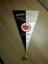 Wimpel Eintracht Frankfurt - Schalke 04 / S04 gestickt Saison 2009/10