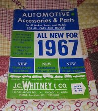 J.C. Whitney Automotive Parts and Accessories Catalog No. 239A with 226 Pgs 1967