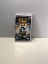 Star Wars The Clone Wars UMD Video Sony PSP (Feature Film) New & Sealed