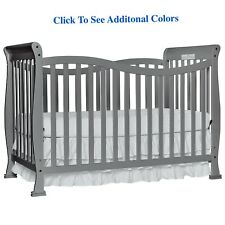 7-in-1 Convertible Full Size Crib Baby Nursery Bedroom Furniture Bed